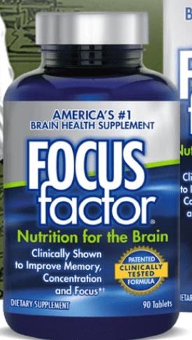 focus factor brain supplement